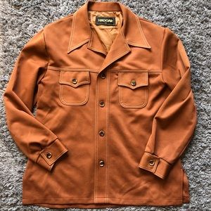 Vintage 70s 80s Haggar Men's Leisure Suit Jacket